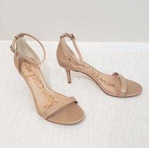 Sam Edelman Patti Nude Leather Sandals 9M